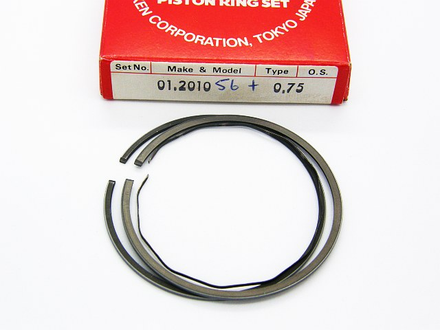 01.2010 - Piston Ring Set Yamaha 125 1986-91