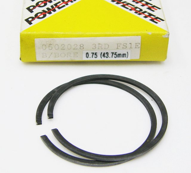 0502028 - Piston Ring Set Yamaha FS1E Big Bore 43.75 mm