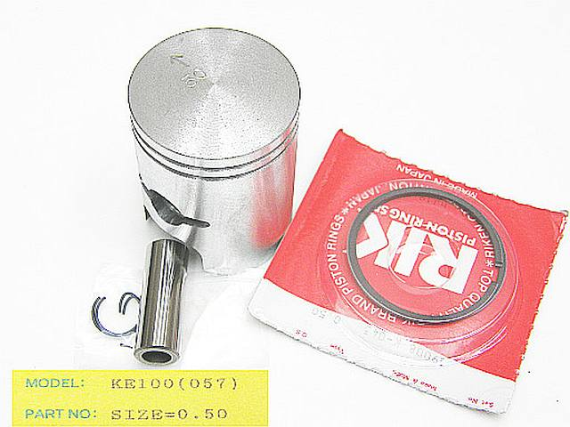 057-050 - Piston Kit Kawasaki KE100 0.50 O/S