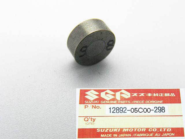 12892-05C00-298 - SHIM, TAPPET Ø 7.5 mm  T=2.98 mm