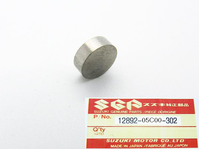 12892-05C00-302 - SHIM, TAPPET Ø 7.5 mm  T=3.02 mm