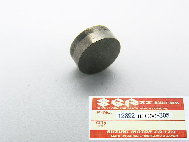 12892-05C00-305 - SHIM, TAPPET Ø 7.5 mm  T=3.05 mm