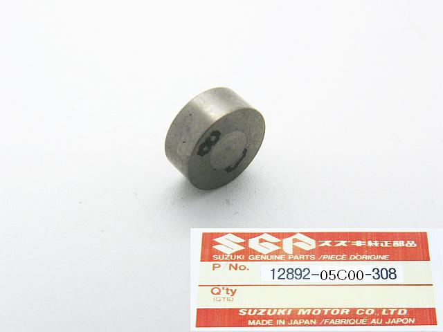12892-05C00-308 - SHIM, TAPPET Ø 7.5 mm  T=3.08 mm