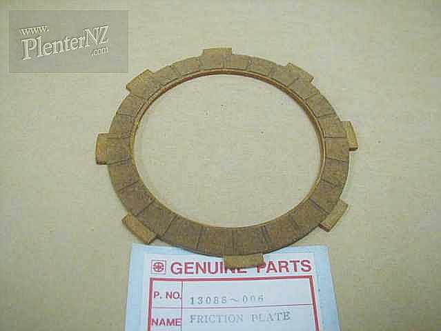 13088-006 - CLUTCH FRICTION PLATE,13088-10,13088-1103