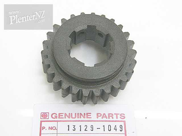 13129-1049 - GEAR,OUTPUT SHAFT,4TH,13260-1516