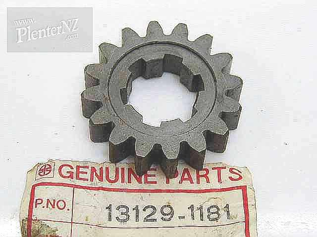 13129-1181 - GEAR,DRIVESHAFT,2ND