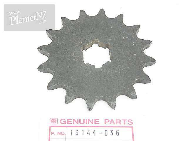 13144-036 - ENGINE SPROCKET,16T,OPTIONAL