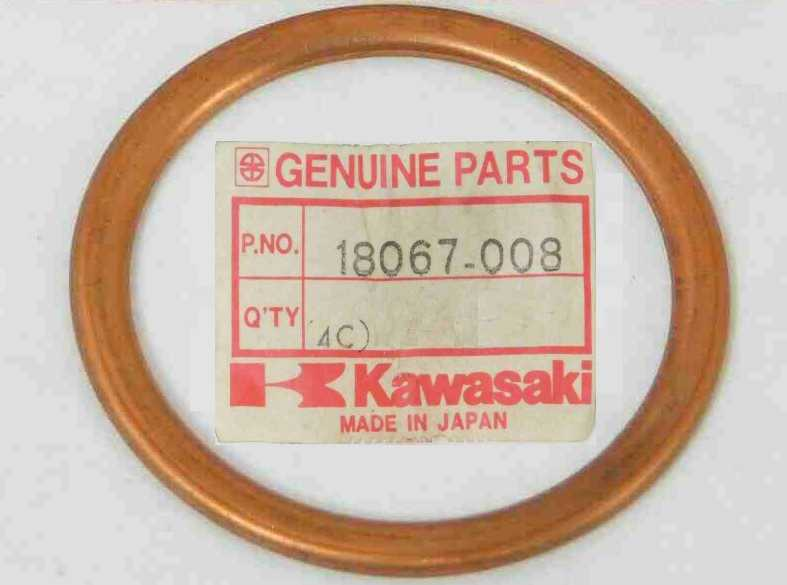 18067-008 - EXHAUST PIPE GASKET