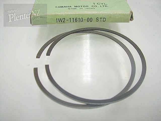 1W2-11610-00-00 - PISTON RING SET (STD)
