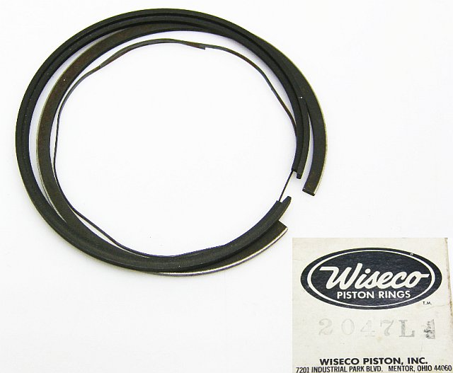 2047L - Piston Ring Set 52.00 mm Yamaha RD200 A/B/C
