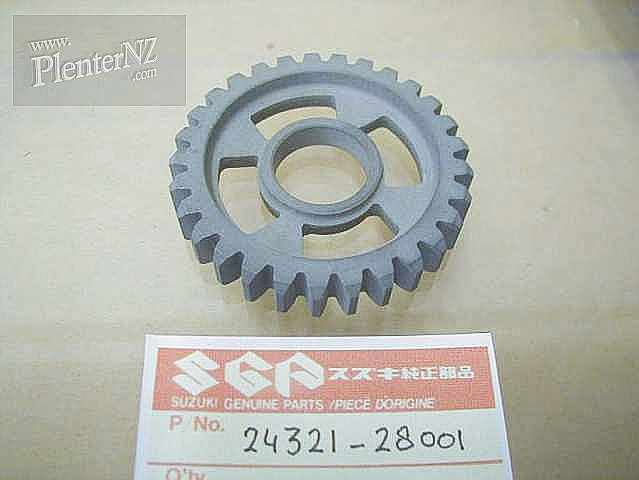 24321-28001 - GEAR,SECOND DRIVEN