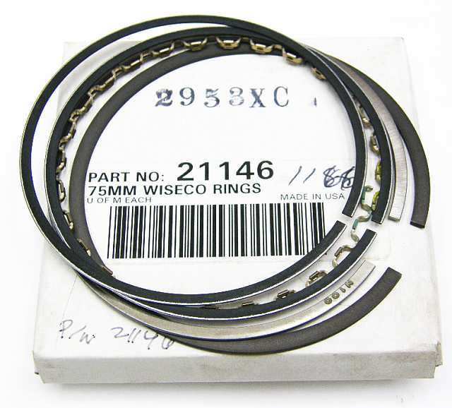 2953XC - Piston Ring Set 75.00 mm