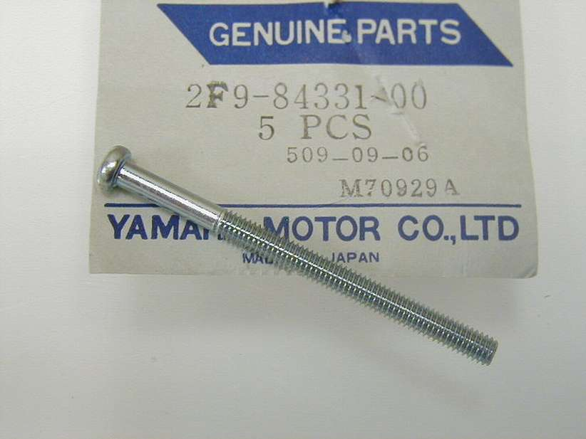 2F9-84331-00-00 - SCREW, ADJUSTING