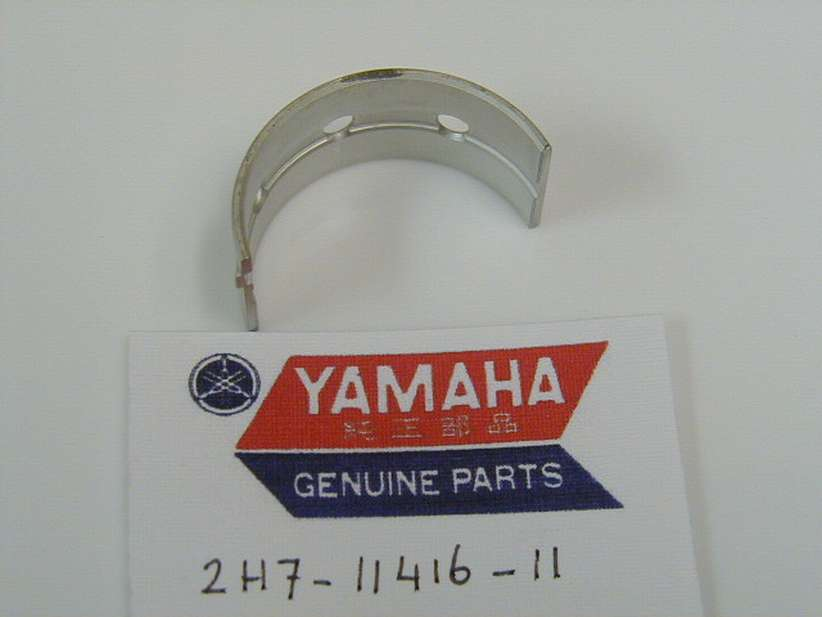 2H7-11416-11-00 - PLANE BEARING, CRANKSHAFT 1 UR BLACK