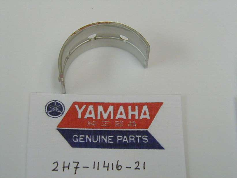 2H7-11416-21-00 - PLANE BEARING, CRANKSHAFT 1 UR BROWN