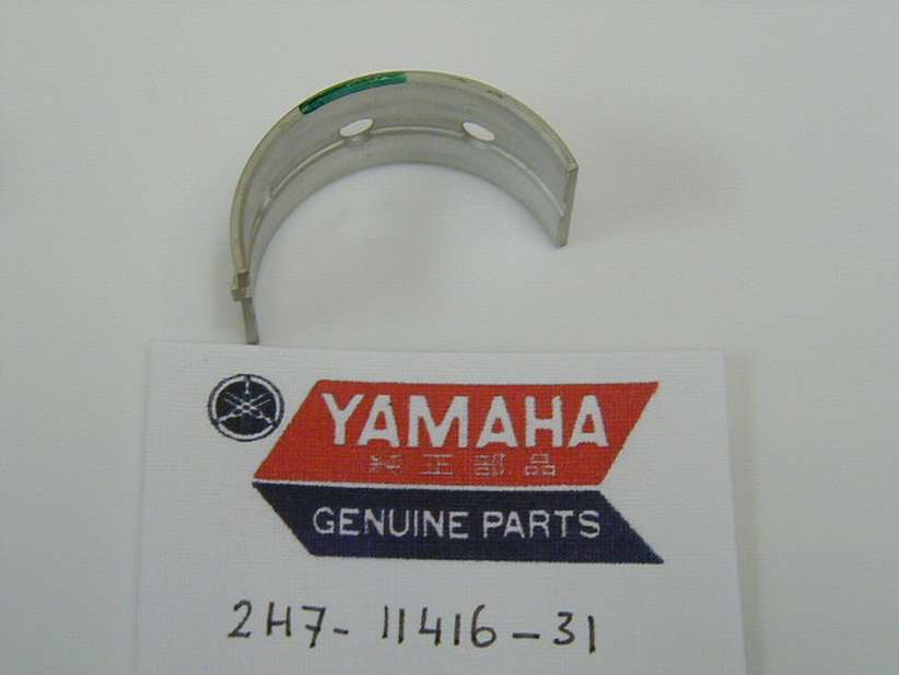2H7-11416-31-00 - PLANE BEARING, CRANKSHAFT 1 UR GREEN