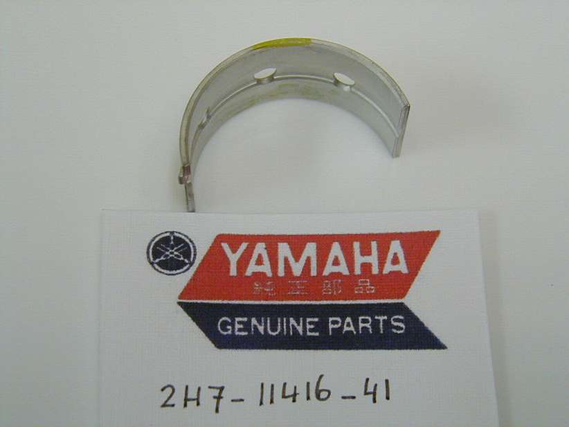 2H7-11416-41-00 - PLANE BEARING, CRANKSHAFT 1 UR YELLOW