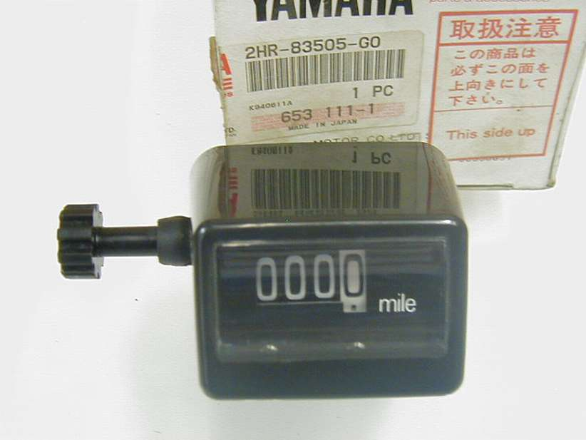 2HR-83505-G0-00 - TRIP METER COMP. MILE
