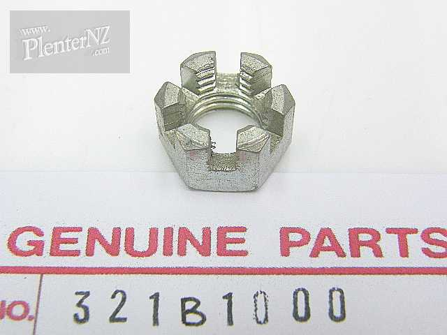 321B1000 - NUT CASTLE 10MM