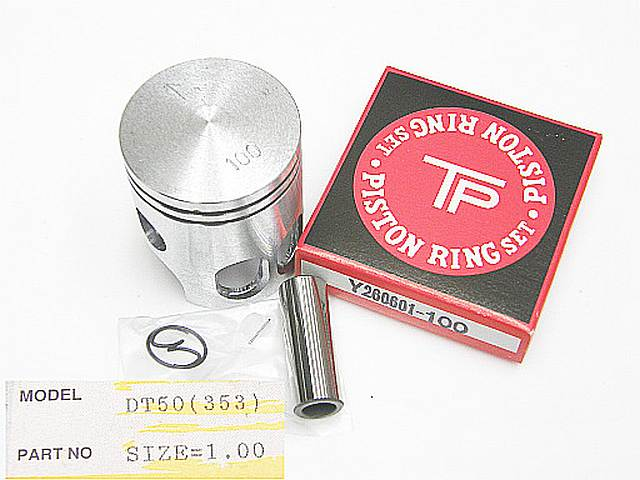 353-100 - Piston kit Yamaha DT50 1.00 O/S
