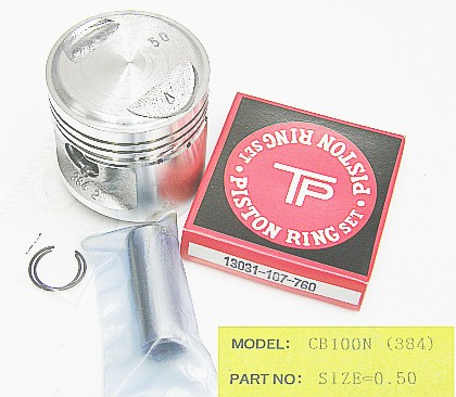 384-050 - Piston Kit Honda CB100N 0.50 O/S