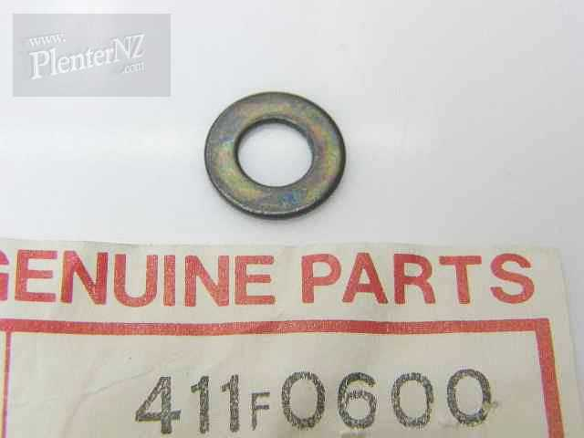411F0600 - WASHER-PLAIN,6MM,BLACK