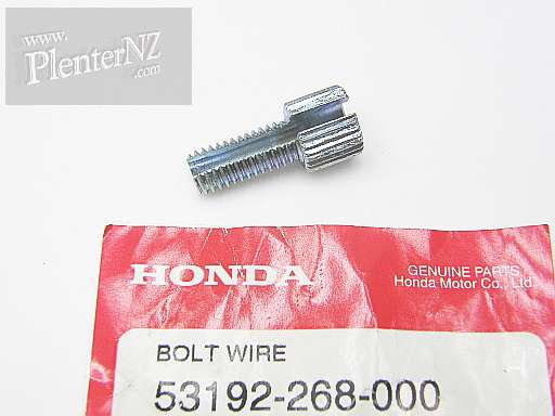 53192-268-000 - BOLT,WIRE ADJUSTING