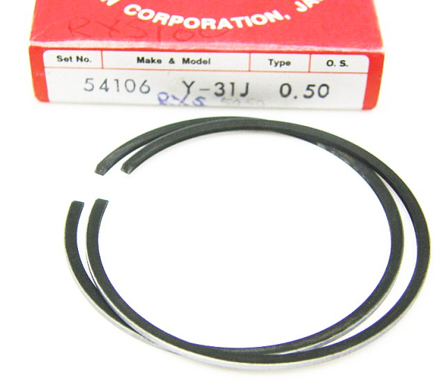 54106 - Piston Ring Set Yamaha RX100 Jog90 Axis90 50.50 mm bore