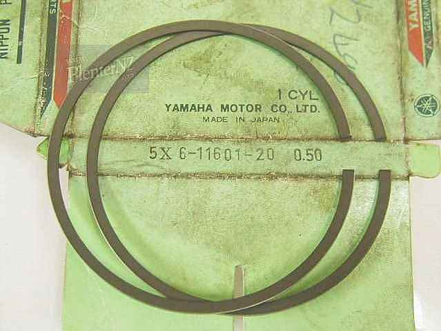 5X6-11601-20-00 - PISTON RING SET (2ND O/S)