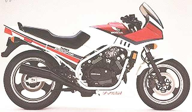 1984-1986 VF500F Interceptor