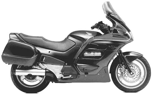1995-1998 ST1100A Pan European