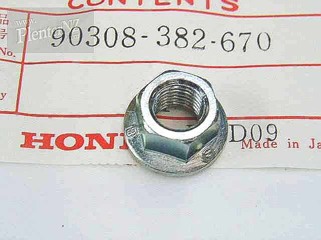 90308-382-670 - NUT,FLANGE 10MM