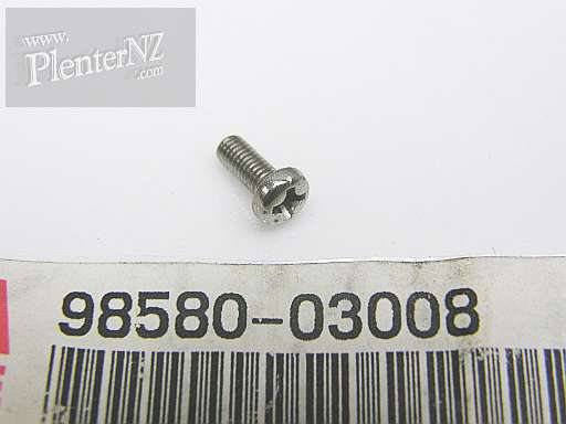 98580-03008-00 - SCREW, PAN HEAD (98501-03008)