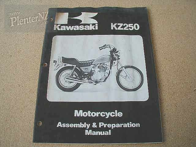 99931-1050-01, KZ250 Assembly and Prep Manual D1 Model