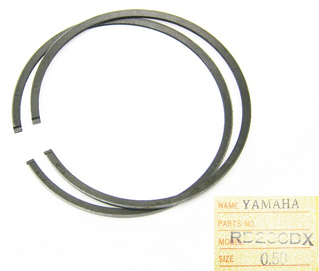 AM1E8-11610-20 - Piston Ring Set Yamaha RD200DX 52.50 mm bore