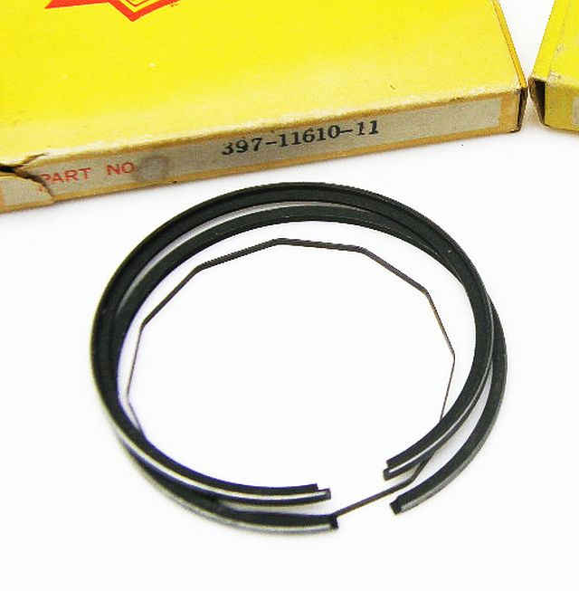 AM397-11610-11 - Piston Ring Set Yamaha RD200 52.25 mm bore