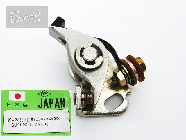 FEW-K-74RL - Contact points for Suzuki GT550J