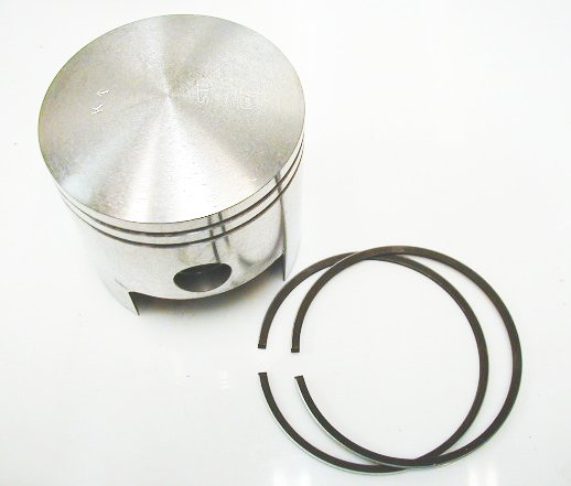 HJ-RT1-SetSTD - Yamaha RT1 RT-1 Piston and Rings