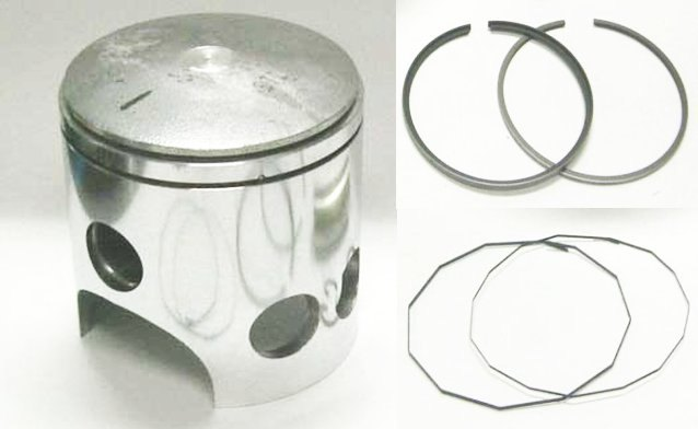 MC-DT2-Set050 - Yamaha DT2 DT-2 Piston and Rings