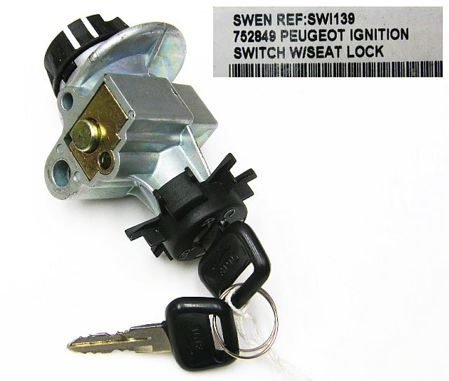 SWI139 - Ignition switch Peugeot Speedfight / Trekker
