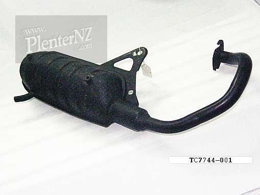 TC7744-001 - Tunit Exhaust Yamaha CA50 Salient